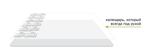 Настольный планнинг-планшет, планинг настольный